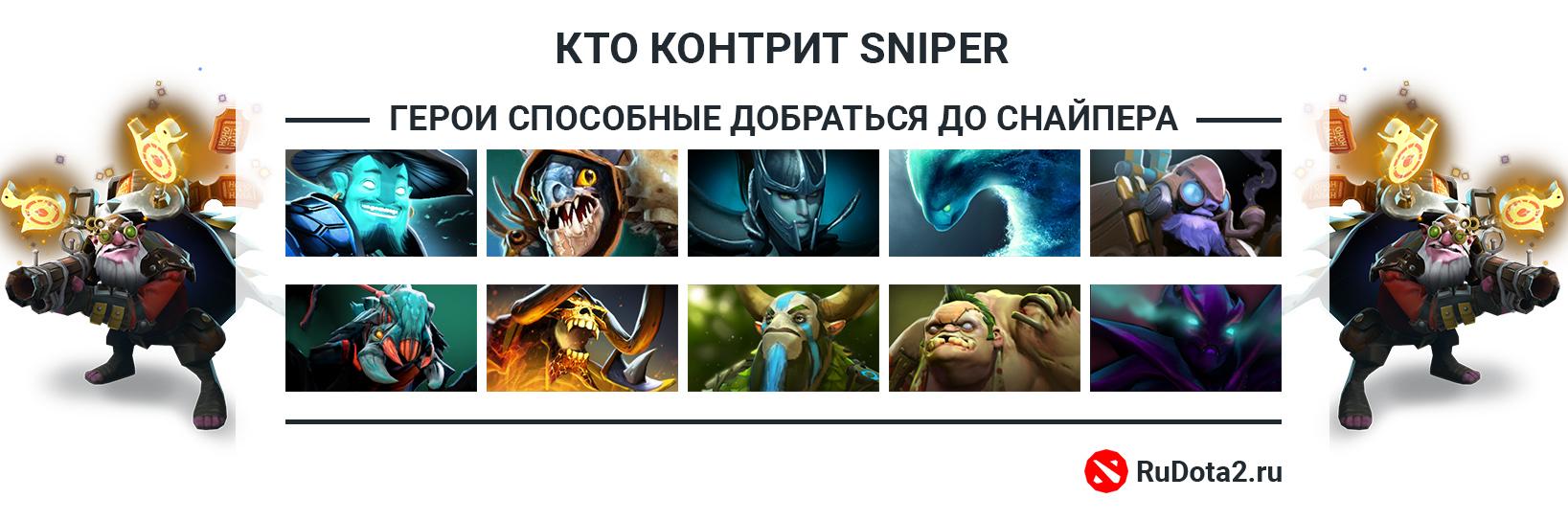 Кто контрит Снайпера
